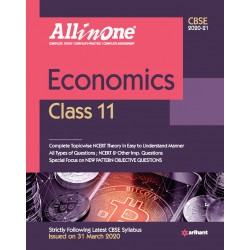 CBSE All in One Economics Class 11 2020-21