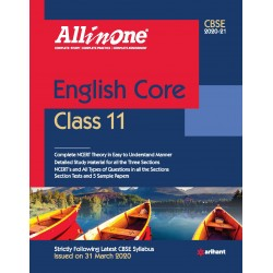 CBSE All in One English Core Class 11 2020-21