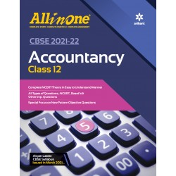 CBSE All in One Accountancy Class 12 2021-22