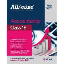 CBSE All in One Accountanct Class 12 2020-21