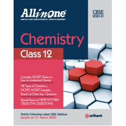 CBSE All in One Chemistry Class 12 2020-21