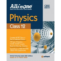 CBSE All in One Physics Class 12 2020-21
