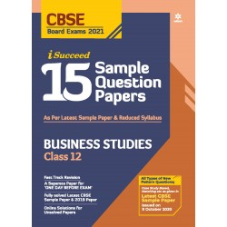 Arihant i Succeed 15 Sample Question Paper Business Studies