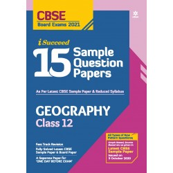 Arihant i Succeed 15 Sample Question Paper Geography Class