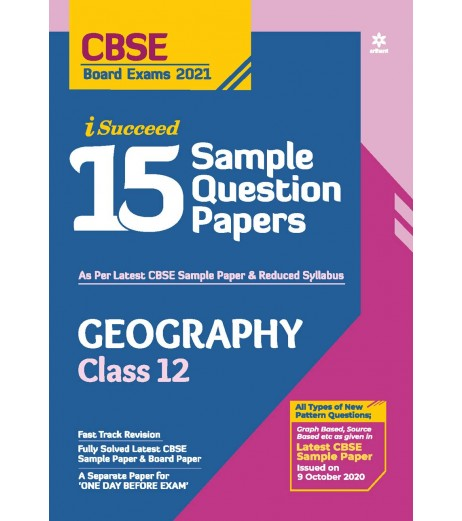 Arihant i Succeed 15 Sample Question Paper Geography Class ...