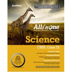 CBSE All in One Science class IX