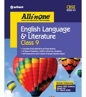 CBSE All in One English Language and Literature class 9 2020-21