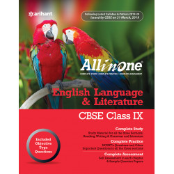 CBSE All in One English Language and Literature class IX