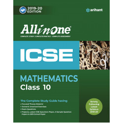 All In One ICSE Mathematics Class 10 2019-20