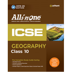 All In One ICSE Geography Class 10 2019-20