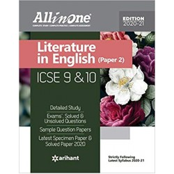 All in One ICSE English Language (Paper-II) Class 9 and 10