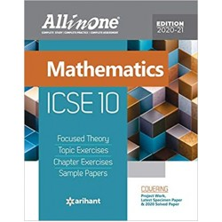 All In One ICSE Mathematics Class 10 2020-21