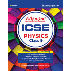 All In One ICSE Physics Class 9  2019-20