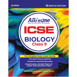 All In One ICSE Biology Class 9 2019-20