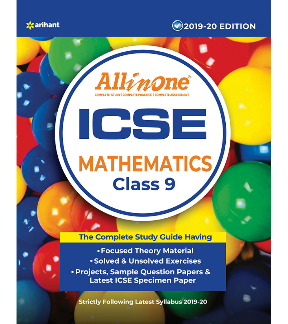 All In One ICSE Mathematics Class 9 2019-20