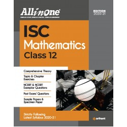 All In One ISC Mathematics Class 12  2020-21