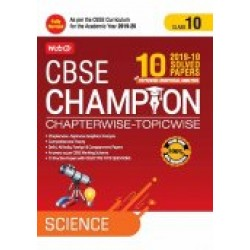 MTG 10 Yrs. CBSE Champion Chapterwise-Topicwise Scienec