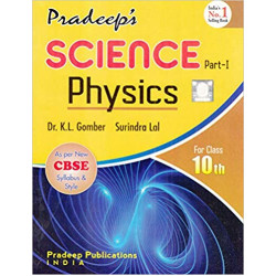 Pardeep's Science Physics Part-1 for Class 10th