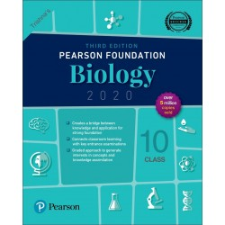 Pearson IIT Foundation Series Biology Class 10 2020 edition