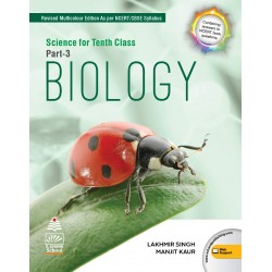 Lakhmir Singh Science Biology Part -3 Class 10  2020-21