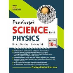 Pardeep's Science Physics Part-1 for Class 10 2020-21
