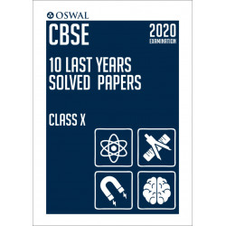 Oswal CBSE 10 Last years Solved Papers for 2020 Examination
