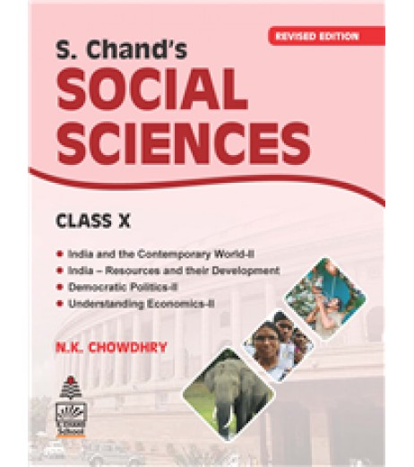 S Chand's Social Sciences for Class 10  By N.K. Chowdhry