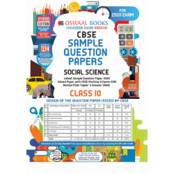Oswaal CBSE Sample Question Paper Class 10 Social Scienec