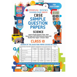 Oswaal CBSE Sample Question Paper Class 10 Science For
