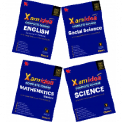 Xam idea Class10 Combo Pack -English,Sci.,S.S.& Maths.for