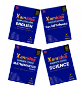 Xam idea Class10 Combo Pack -English,Sci.,S.S.& Maths.for 2019-20