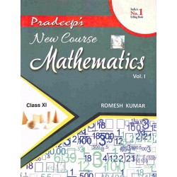 Pradeep's New Course Mathematics Class 11 Vol-1& 2 by
