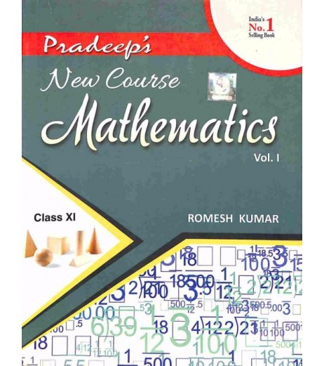 Pradeep's New Course Mathematics Class 11 Vol-1and 2 by Romesh Kumar