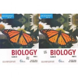 Modern's abc+ Of Biology Class-11 Part I and II  2020-21 by B. B. Arora , A. K. Sabharwal