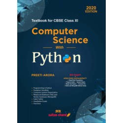 Computer Science With Python Class 11 by Preeti Arora