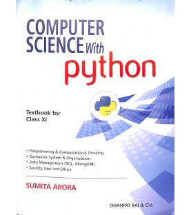 Computer Science with Python by Sumita Arora  for Class 11 2020-21