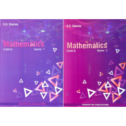 Mathematics by R D Sharma for Class 11  Vol-1 and 2 2021
