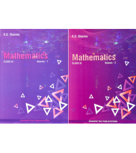 Mathematics for CBSE Class 11 Vol 1 and 2 by R D Sharma | Latest Edition