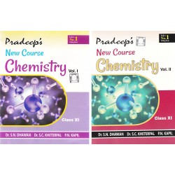 Pradeep's Fundamental Chemistry Class 11 Vol- 1 & 2