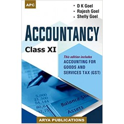 APC D.K. Goel  Accountancy For Class 11