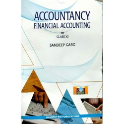 Sandeep Garg Accountancy book for Class 11 2019-20