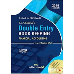 Double Entry Book Keeping by T.S. Grewal's for Class XI