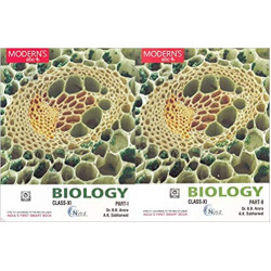 Modern's abc+ Of Biology Class-11 Part I & II by B. B.