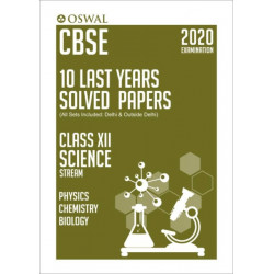 Oswal CBSE 10 Last Years Solved Papers -Science Stream(PCB)