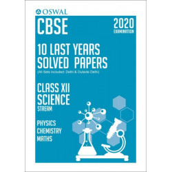 Oswal CBSE 10 Last Years Solved Papers -Science Stream(PCM)