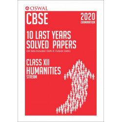 Oswal CBSE 10 Last Years Solved Papers -Humanities Stream