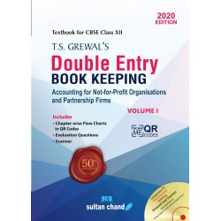 T.S. Grewal's Double Entry Book Keeping 2020 : Accounting