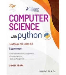Computer Science with python Class 12  Supplement 2020-21