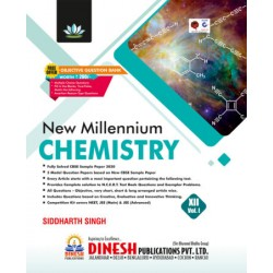 Dinesh New  Millennium  Chemistry Class 12 Vol-1 and 2 -2020-21