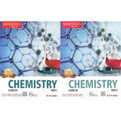 Modern ABC of Chemistry Class - 12 Part I & Part II 2020-21